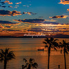 Sunrise from Loreto, Baja California Sur, Mexico