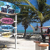 The Internet Cafe down the beach which was the only place I could check e-mail - no cell service on the island for me!
