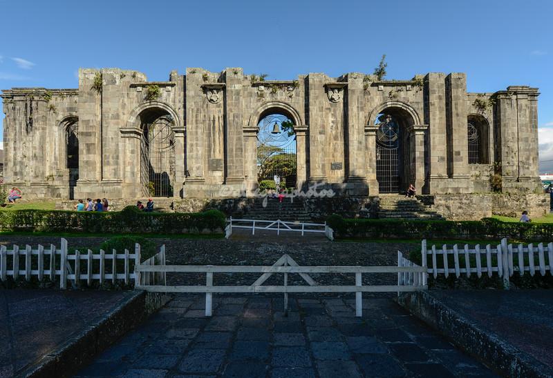 Santiago Apostol Parish ruins, Cartago, Costa Rica