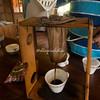 Traditional Muslin Coffee filter, Costa Rica
