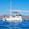 Our boat for the first whale watching trip
