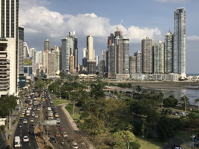Panama City - view from Le Meridien
