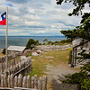 Fort Bulnes on the Straits of Magellan, Punta Arenas, Patagonia, Chile