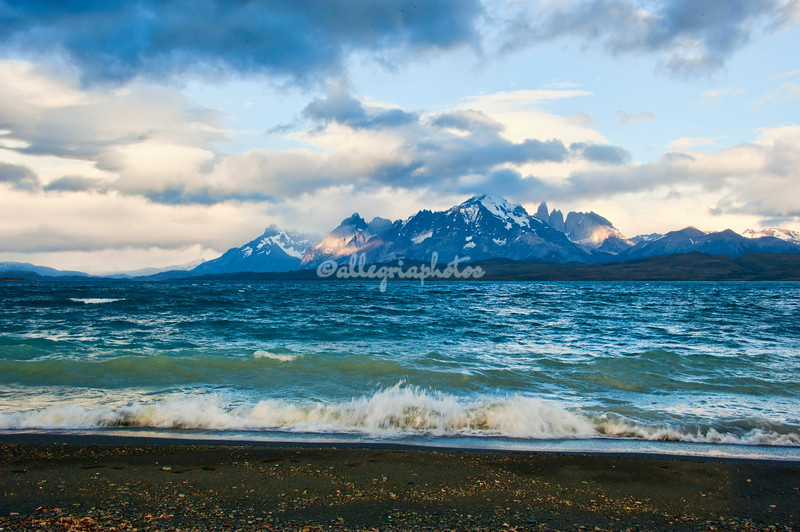 Lake Sarmiento, Patagonia, Chile
