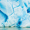 Close up of iceberg on Lago Grey, Torres del Paine National Park, Patagonia, Chile