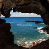 If you are prepared to squeeze into a tiny hole and navigate through a lava tube, you will be rewarded with an incredible view of the sea through two windows in the cliff face. Not for the claustrophobic. Taking a torch along is indispensable.