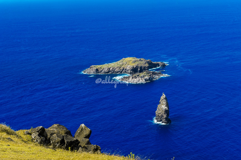Islands of Motu Iti and Motu Nui