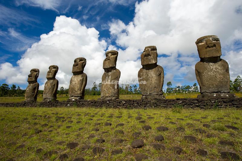 The Seven Moai