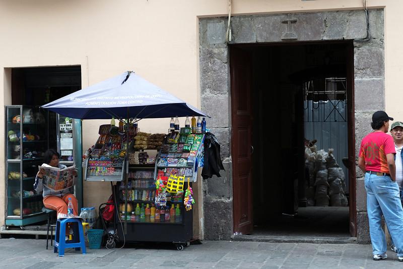 Quito - Sreet scene