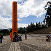 New Equator Monument - This sits accurately on the Equator