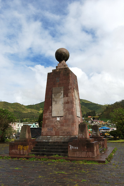 Old Equator Monument - It is not quite on the Equator  (about 270 m off)
