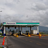 "Toll booth at the ""Panamericana"""