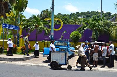 The streets of La Libertad