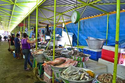 Inside the fish market