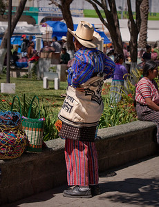 A good example of traditional clothing of Solola.