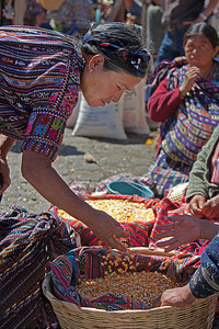 Market day in Solola.