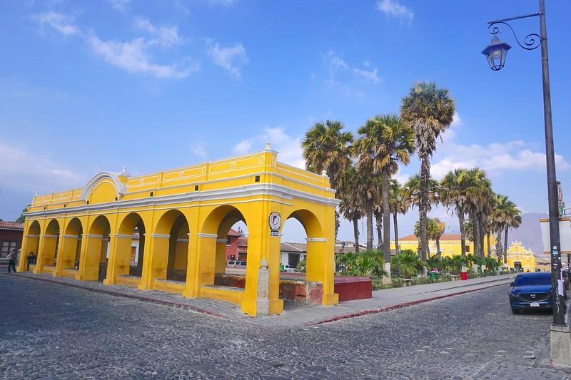 The laundromat in Antigua Guatemala