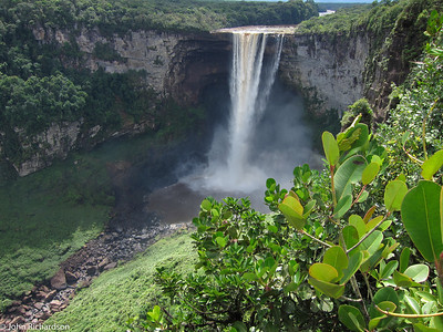 Kaieteur Falls, a drop of 741 feet