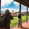 Photographing the Cathedral of Granada, Nicaragua