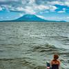 Looking towards Ometepe Island, Nicaragua