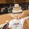 A hat merchant, Granada, Nicaragua