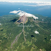 Aerial view, Mt Concepcion on Ometepe Island, Nicaragua