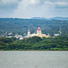Cathedral of Granada as seen from Lake Nicaragua