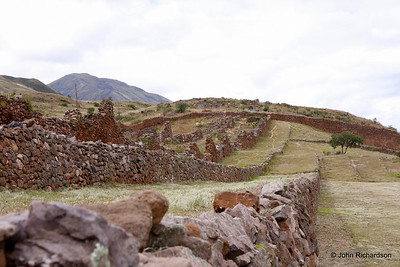 Pre Incan city south of Cusco