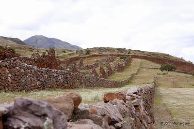 Pre Incan city south of Cusco