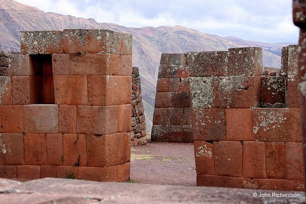 Pisac stone workmanship