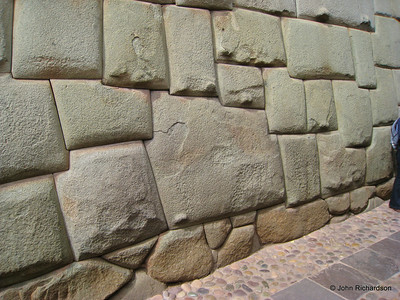 12 cornered Inca block - Cusco