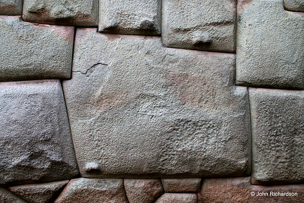 12 sided Inca stone in Cusco