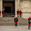 The changing of the guard, Presidential Palace, Plaza Major, Lima, Peru