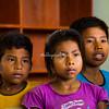 Children at the San Francisco elementary school, Upper Amazon, Peru