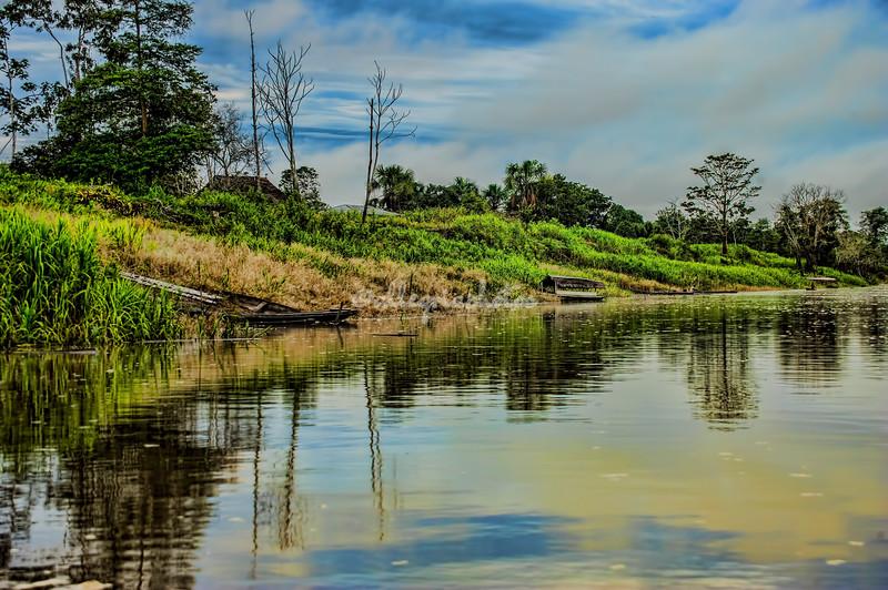 Arapa River near Puerto Miguel