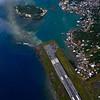 Landing in Roatan