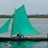 Traditional Kuna boat
