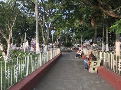 downtown area park