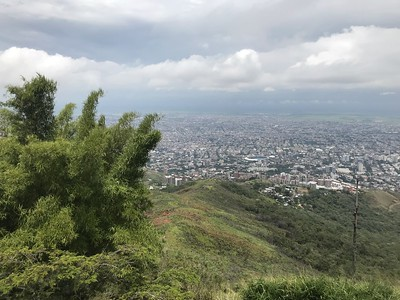 Cali vista from Cristo Rey hilltop