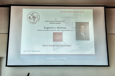 LACCC Luncheon Guest Speaker Eugenio Aleman, PhD @ The Mint Museum 1-18-17 by Jon Strayhorn