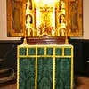 Altar with Green Bellini frontal