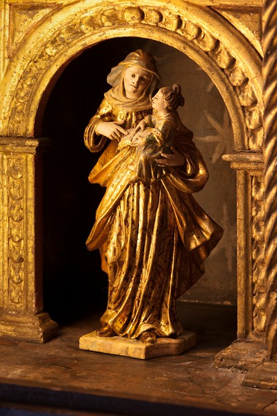 St Anne and Our Lady as a child