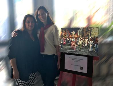 Con la Artista Alejandrina Arreola de Calderoni