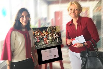 Con Alcaldesa de Montbard