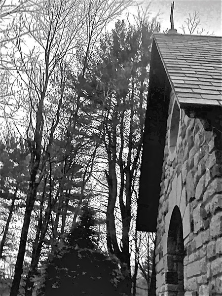 Chapel entrance<br /> Credit: Roseanne T. Sullivan