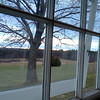 View from a refectory window<br /> Credit: Roseanne T. Sullivan