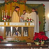 Monks at Christmas Mass in the Chapel <br /> Credit: Abbey of St. Benedict