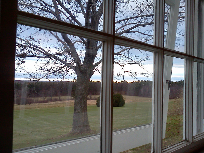 View from a refectory window<br /> <br /> Credit: Roseanne T. Sullivan