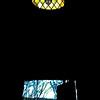 Chapel window and door.<br /> <br /> Credit: Roseanne T. Sullivan