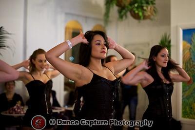 Salsabor Burlesque performance